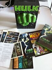 HULK - DELUXE EDITION HARD BOX SET 3 DVD - CASTELLANO ENGLISH + COMIC + POSTCARD