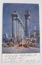 Postkarte/Ganzsache Ägypten - Kairo - Hameln - 1904