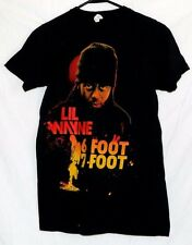 Lil Wayne Black T-Shirt 6 Foot 7 Foot Rap Hip Hop Size S Bay Island Nice!