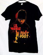 Lil Wayne Black T-Shirt 6 Foot 7 Foot Rap Hip Hop Size S Bay Island Nice!