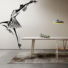 Wall Room Decor Art Vinyl Sticker Mural Decal Ballet Dance Women Ballerina FI361