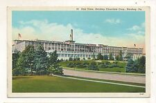 East View, Chocolate Factory HERSHEY PA Vintage Dauphin County Postcard