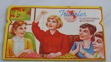 vtg sewing Needle Card Folder Case Traveler Gold Eye needles Made in Japan