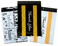 "Thank you Collection Poly Mailers 10x13"" Combo, Self Seal Shipping Mailing bags"