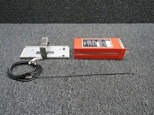 Narco ELT-10 Emergency Locator Transmitter W/ Tray and Antenna