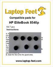 Laptop rubber feet for HP Elitebook 8540p compatible set (7 pcs self adh. by 3M)