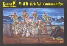 Caesar Miniatures - WWII British Commandos - 1:72