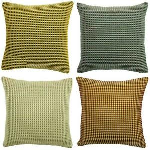 Rowan Waffle Cushion covers by  fern available in 4 different stunning colours
