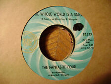 RIC TIC 45 RECORD/FANTASTIC FOUR/AIN'T LOVE WONDERFUL/WHOLE WORLD IS A STAGE/MNT