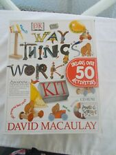Dk The Way Things Work Science Kit New In Box 2000 Includes Cd-Rom