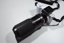 Tokina 80-200mm F4 Zoom lens Minolta M/MD mount objektiv lente