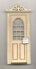 Door - Exterior Ld8031 dollhouse 1/12 scale miniature Usa Ga unfinished wood