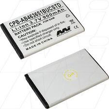 CPB-AB463651BUCSTD 3.7V 900mAh Lithium Mobile Phone Battery