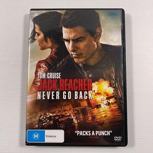 Jack Reacher - Never Go Back (DVD, 2017) Tom Cruise Region 4