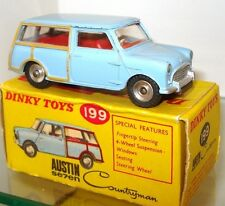 DINKY NO. 199 AUSTIN 7 MINI COUNTRYMAN - N/MINT AND BOXED