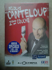 31524// NICOLAS CANTELOUP 2EME COUCHE  2 DVD COLLECTOR NEUF