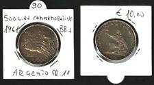 REP.ITALIANA - MONETA DA LIRE 500 ARGENTO, COMMEMORATIVA - 1961-  GR.11   - N.90