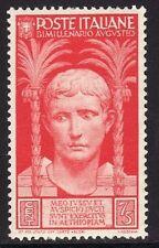 ITALIA 1937 - OTTAVIANO AUGUSTO - C. 75 - MNH