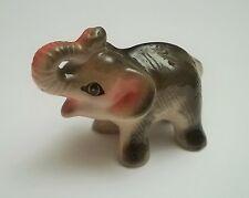 magnifique éléphant en céramique de collection , elefant , olifant G-tp4-20