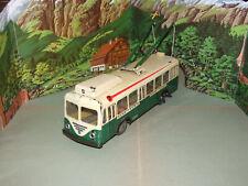 Joustra Trolley Bus Blechspielzeug Gare-Mairie