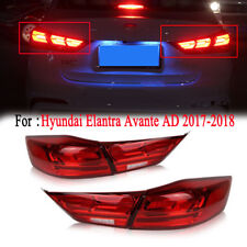 Rear LED Tail Light Assembly For Hyundai Elantra AD 17 18 Brake Lamp With Turn