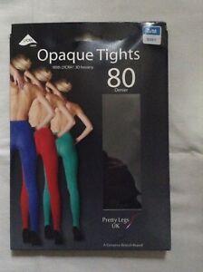 Pretty legs 80 denier luxury colour Opaque tights bnib