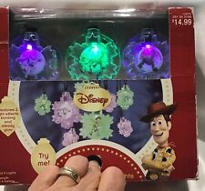 Disney Toy Story Blinking and Steady Glow Christmas String Lights Nib