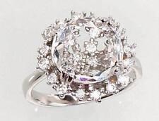 Echtschmuck-Ringe für Damen (17,5 mm Ø) Zirkon von 55
