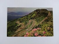 Postcard Roadway to Top of Grandfather Mountain Linville Western North Carolina