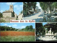 "MAUSSANE (13) COMMERCE ""CASINO"" FONTAINE , VILLAS & EGLISE"