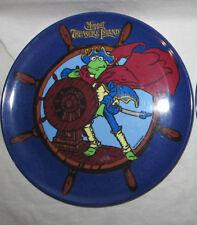"Muppet's Treasure Island Melamine 8"" Plate Pirate Kermit Cape Sword Ship Wheel"