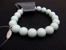 Pilgrim Jewelry Powdered Snow Blue Stretchy Elastic Beaded Bracelet: 429902 A