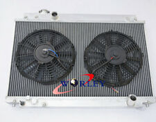 ALUMINUM RADIATOR&FANS LEXUS SC300/TOYOTA SOARER JZZ31 2JZ-GE 3.0L M/T 1991-2000