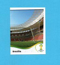 BRASILE 2014-PANINI-Figurina n.11-STADIO NACIONAL-DX-NEW BLACK BACK