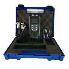 2 Channels Vibrometer Vibration Meter Data Logger 3d Vibration Analyzer Tester