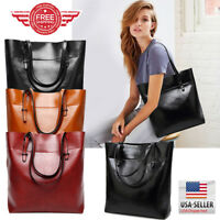 Women Tote Bag Leather Bags Handbag Shoulder Hobo Purse Messenger GT0043