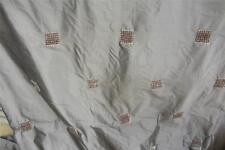 100% Pure Silk St Maeteen Chocolate  Curtain fabric 12m