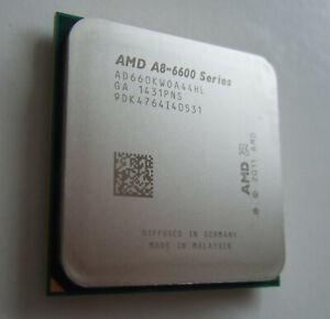 AMD A8-6600K, 3.9GHz Quad Core, Unlocked, with Radeon, Socket FM2. Fully working