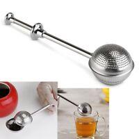 Teesieb Tee-Sieb Edelstahl 18cm direkt für Tasse oder Kanne Einhandbedienun M7L8