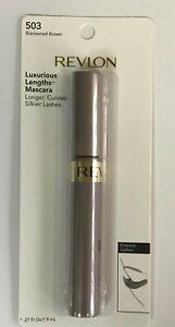3 Revlon Luxurious Lengths Mascara Blackened brown 503
