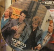 "Sex Pistols Interview Picture Disc Uk 12"""