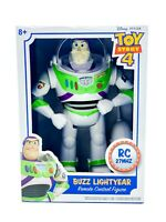 Disney Toy Story 4 RC Buzz Lightyear Remote Control Figure Retractable Wings NEW