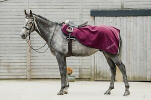 Dark Horse Fleece Exercise Sheets Pony Cob Full Purple Plum Fast & Free Delivery