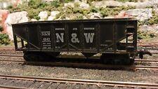 Revell Ho Vintage Norfolk & Western Twin Hopper Diecast Sprung Trucks, Ex.