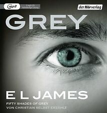 E L James - Grey. Fifty Shades of Grey von Christian selbst erzählt (Hörbuch)