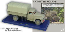 Car Tintin Atlas N° 62 Truck of Alcazar The Picaros + Box Certificate