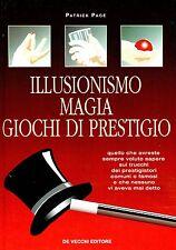 Patrick Page ILLUSIONISMO MAGIA GIOCHI DI PRESTIGIO