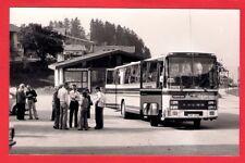 Swedish Bus Photo ~ Palmbergs of Eksjö JPP976: Volvo B58 Van Hool - Austria 1977
