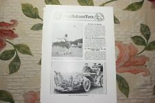 1909 Fachbericht Arena 88 / Automobil Auto Unfallverhütung Pferdeambulanzauto