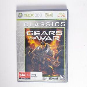 Gears of War - Microsoft Xbox 360 - Free Postage + Manual